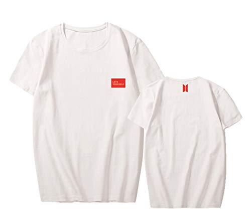 Tour Album - babyHealthy Kpop BTS Love Yourself T-Shirt Jimin Suga Jung Kook 2018 World Tour Tee Shirt