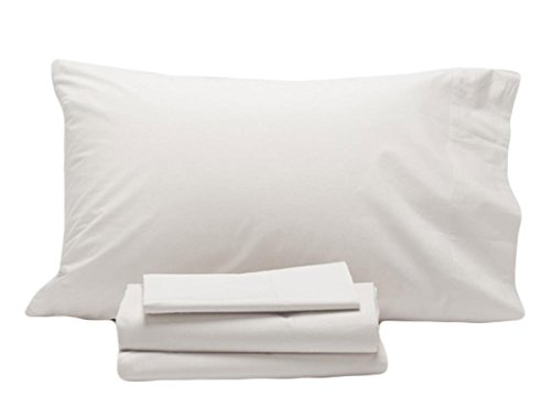 Coyuchi 300 TC Organic Sateen  Sheet Set, Queen, Alpine White