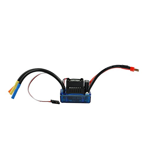 Esc Controllers (Jrelecs 120A Sensored Brushless Speed Controller ESC for 1/8 1/10 1/12 Car Crawler (120A))