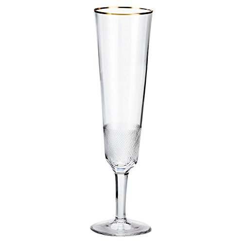 (Moser Crystal Clear Royal Champagne Flute)