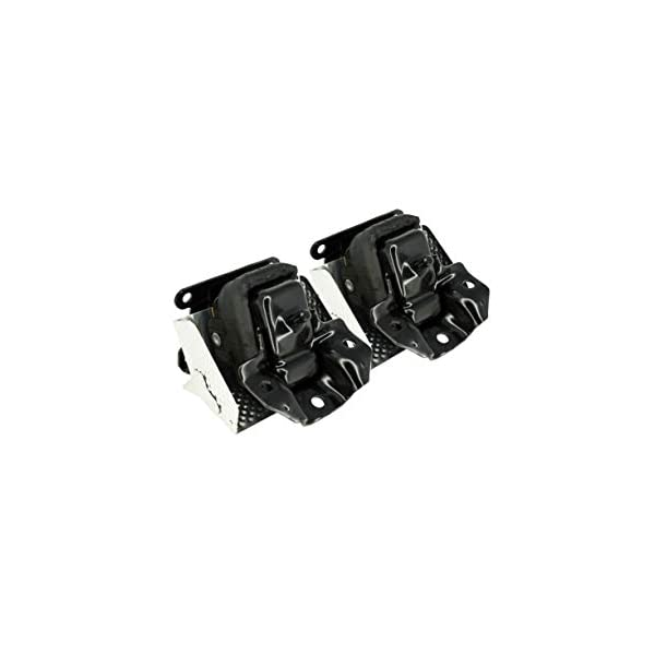Front Pair Engine Mount Motor W//Heat Shield Set For 2007-2014 Chevy Tahoe Silverado Suburban Avalanche Cadillac Escalade GMC Sierra Yukon Replacement For A5365 15854941 15854939