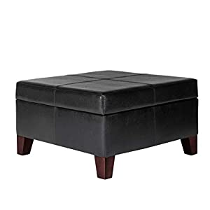 Kinfine USA Large Faux Leather Table