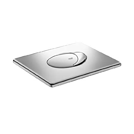 Pulsador WC Instalaci/ón horizontal color cromo  Ref Grohe Skate Air 38506000