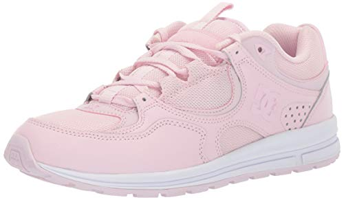DC Women's Kalis LITE Skate Shoe, Light Pink, 8 M US