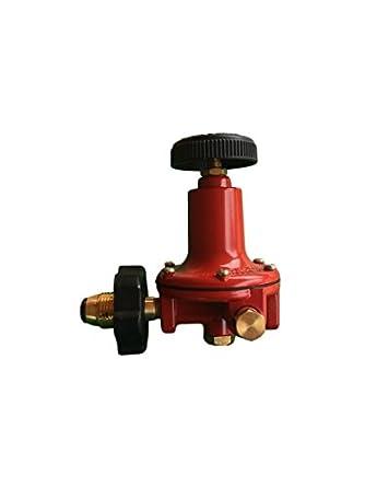 Propane LP Gas Adjustable 0 - 100psi High Pressure Regulator