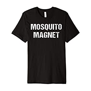 Funny Mosquito Shirt Mosquito Magnet Bugs RV Glamp Camping Premium T-Shirt