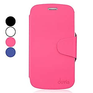 High-end Protective PU Leather Case for Samsung Galaxy Grand DUOS I9082 (Assorted Colors) , Black
