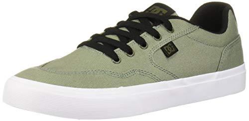 DC Men's ROWLAN TX Skate Shoe, Army Green, 9 M US