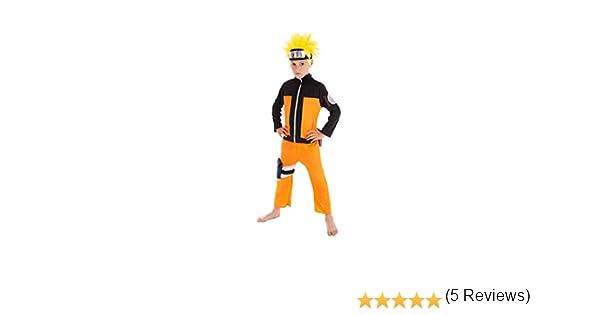Chaks Disfraz Naruto niño 9 a 10 años: Amazon.es: Juguetes y juegos