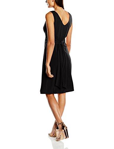 Vestido Negro 100 De schwarz Mujer Swing Cóctel On4qCwCgf