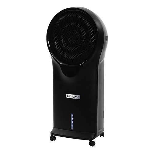 Luma Comfort EC111B Portable Evaporative Air Swamp Cooler with 250 Square Foot Cooling, 500 CFM, Black