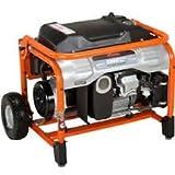 5000 Watt Portable Generator - 5,000-Watt Gasoline Powered Manual Start Portable Generator with Subaru EX Engine