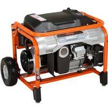 Ariens 5,000-Watt Gasoline Powered Manual Start Portable ...