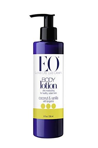 EO Body Lotion, Coconut and Vanilla, 8 Ounce
