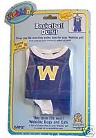 - WE000316 Basketball Outfit Webkinz New Code Sealed With Tag