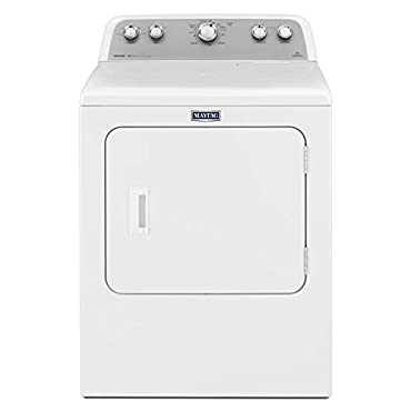 Maytag MGDX655DW 7.0 cu. ft. 120-Volt White Gas Vented Dryer with Sanitize Cycle