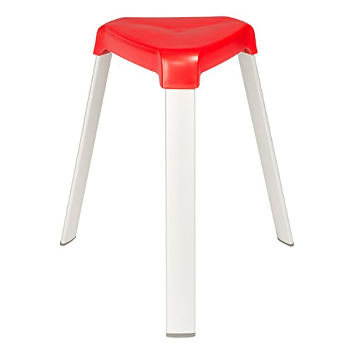 Norwood Commercial Furniture 3 Leg Plastic Stack Stools W
