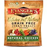 EVANGER'S 776300 Nothing But Natural Organic Chicken Dog Treats, 4.5-Ounce, My Pet Supplies