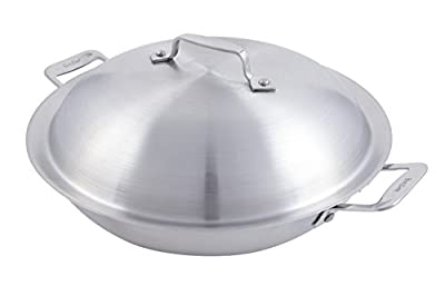 """Bon Chef 60011 Stainless Steel Induction Bottom Cucina 10"""" Braiser Pan with Lid, 1-1/2 quart Capacity, 13-13/64"""" Length x 10-19/32"""" Width x 4-13/32"""" Height"""