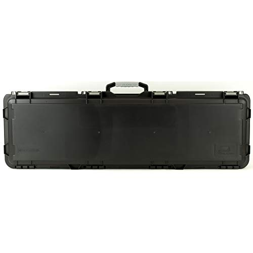 Plano Mil-Spec Field Locker Double Long Gun Case with Wheels, Black, Large -