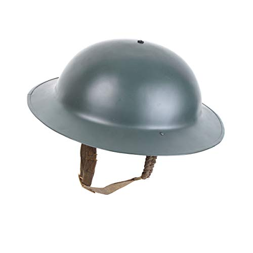 Reproduction WW2 British Army Brodie Helmet with Chinstrap for sale  Delivered anywhere in USA