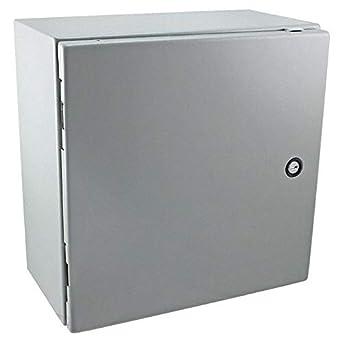 Caja de acero de 40 cm de largo x 40 cm de ancho: Amazon.es ...