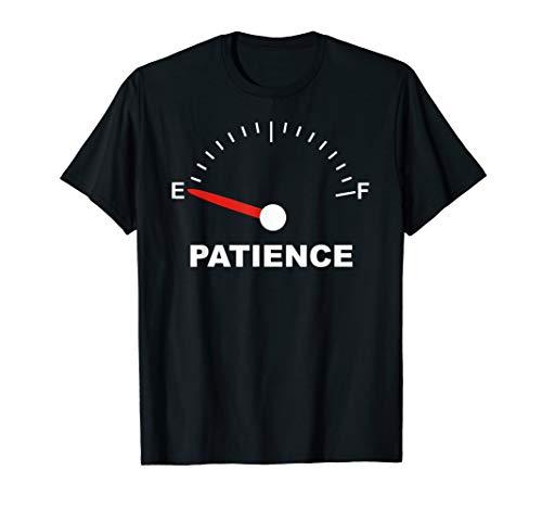 Patience Meter On Empty Fuel Gas Gauge Impatient Can't Wait
