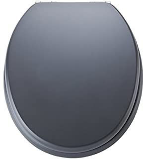 EISL Spirit ED09520SC MDF Toilet Seat with Soft Closing Function  grey soft close toilet seat Firenze Amazon co uk DIY Tools