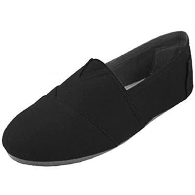 Easy Shoes Mens Comfort Black Size: 8