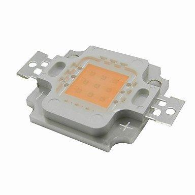 10w llevado crece espectro completo de luz viruta LED crece integrado cubierta 380nm ~ 840nm mejor