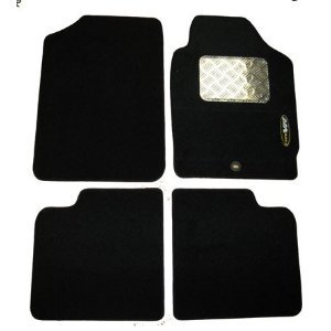 Peugeot 206 Tailored Car Mats With Drivers Side Metal Plate Heel Pad ...