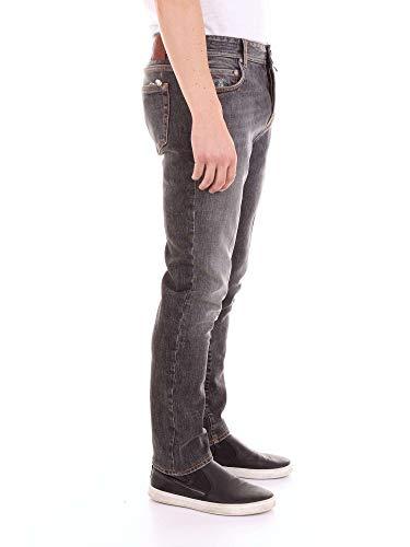 Luigi Tj132caracciolo Jeans Denim Uomo Borrelli Grigio wqFtZPw1f