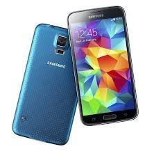 Samsung Galaxy S5 G900F Unlocked Cellphone, Retail Packaging, 16GB, Blue