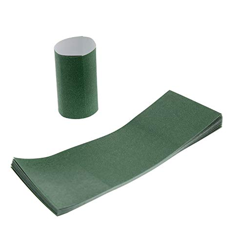 Royal Hunter Green Napkin Bands with Self-Sealing Glue and Bond Paper Construction, Package of 100 ()