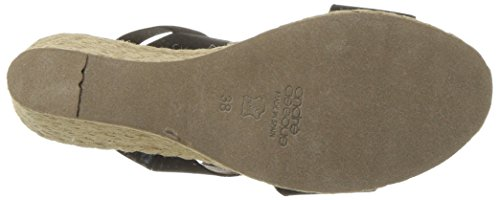 André Assous Women's Allison Espadrille Wedge Sandal Black outlet latest really for sale quality original 2w3mQ