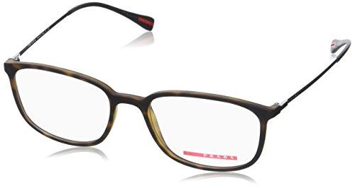 Prada Spectrum PS03HV Eyeglass Frames U611O1-53 - Havana - Linea Eyeglasses Prada Rossa