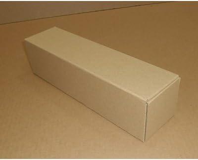 Unipapel 225838 - Caja de embalar para 1 botella, 75 cl, 83 x 83 x 319 mm: Amazon.es: Oficina y papelería