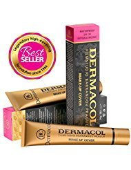 Dermacol Make-up Cover - Waterproof Hypoallergenic Foundation 30g 100% Original Guaranteed from Authorized Stockists (208)