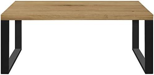 Comifort MS11AH - Mesa de Centro Salón de madera de Roble Macizo ...