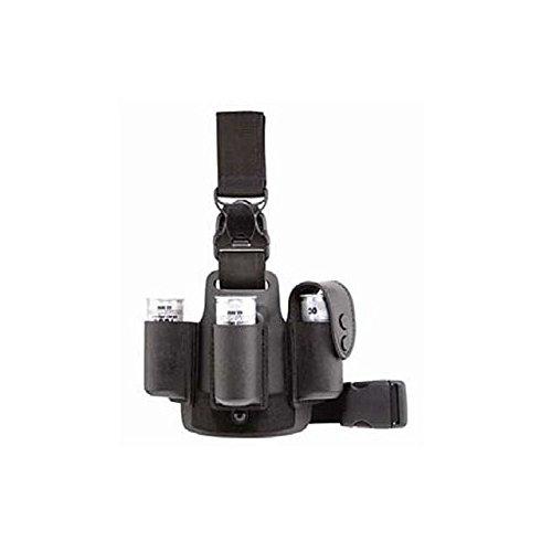 Safariland 6005-110 Lightweight Leg Shroud w/Quick Release, Black, 6005-110-2 ()