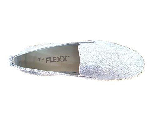 05SILVER Corda Pelle The Silver C122 Inserto Flexx Scarpa Slip Donna qUEHARU
