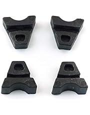 Bross Auto Parts BSR533-2 4 Pieces Sunroof Rail Frame Glass Slider Guide Repair Bracket for Mercedes CLA A C E Class W176 W177 W205 C207 C117