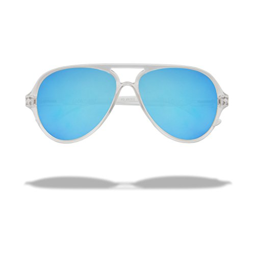 72fea1ba52 Local Supply Unisex AIRPORT Pacific clear   Blue Sunglasses hot sale ...