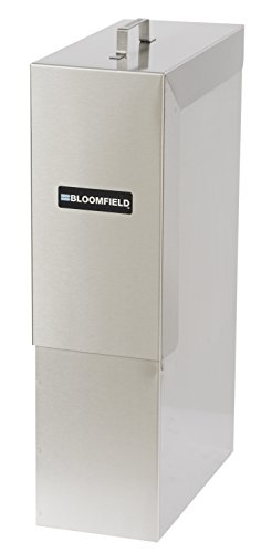 Bloomfield 8840-4G-W Iced Tea Dispenser, 4-Gallon, Stainless Steel, 6'' Width, 12'' Depth, 22'' Height by Bloomfield