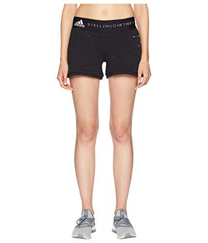 貨物精度入力[adidas(アディダス)] レディースショーツ?短パン Essentials Knit Shorts CZ2293 Black Storm Mel SMC S