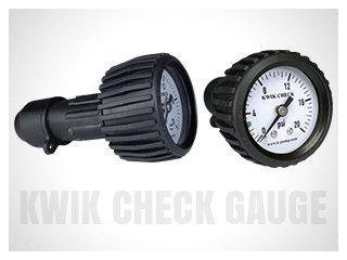 K-Pump Kwik Check Back Mounted Gauge