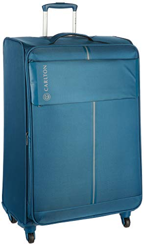 Carlton Carlton Pegasus Polyester 67 cms Blue Softsided Cabin Luggage (105J478930)