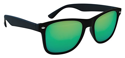 sol 52 Gafas Wave Wayfarer Eagle de Verde Negra Espejo qB6an
