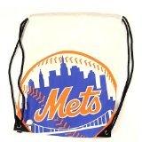New York Mets Nylon Cinch Bag Drawstring Backpack NHL Hockey