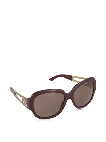 Versace Women's VE4304 Sunglasses Eggplant / Purple Brown - Versace Purple Sunglasses